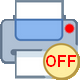 printer off icon